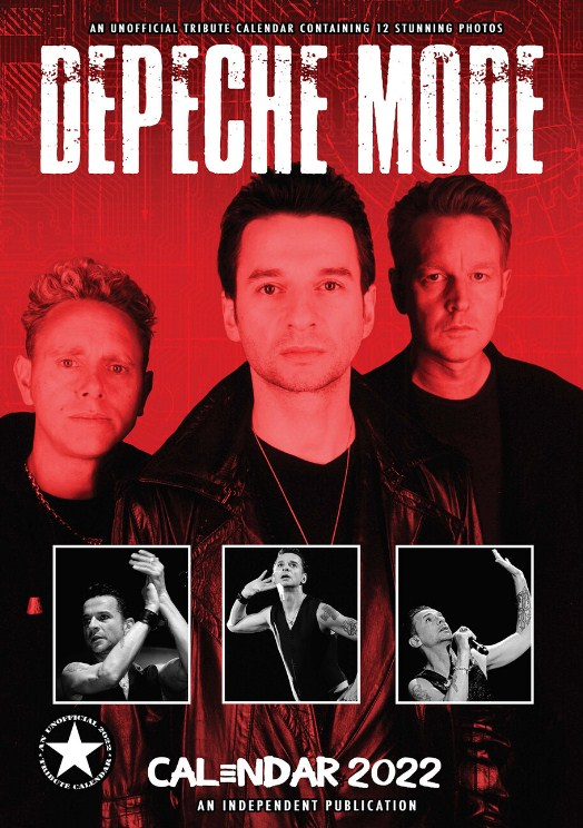 Depeche Mode Wall Calendar 2019 Tribute