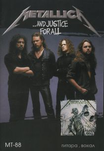 "Metallica '88 ""And Justice For All"""